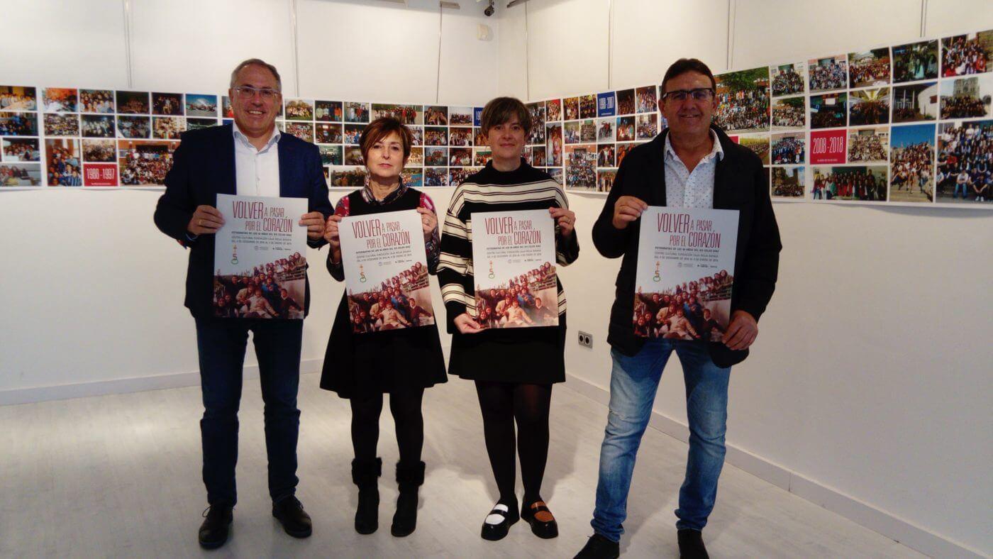 Centro Cultural Caja Rioja de Arnedo acoge exposición fotográfica del 40 aniversario del IES 'Celso Díaz'