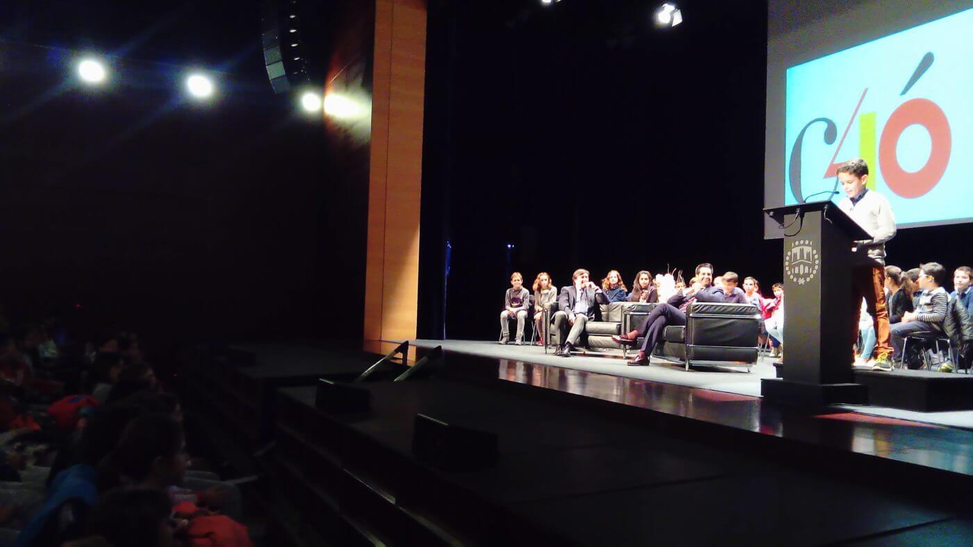 Los escolares protagonizan en Arnedo el acto institucional del 40 aniversario de la Constitución Española