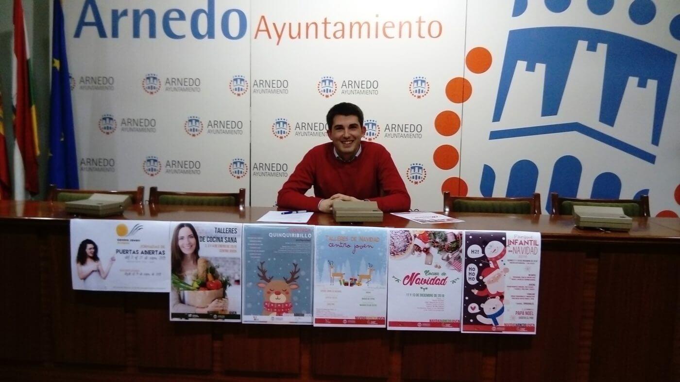 Presentadas las actividades navideñas en Arnedo para niños y adolescentes