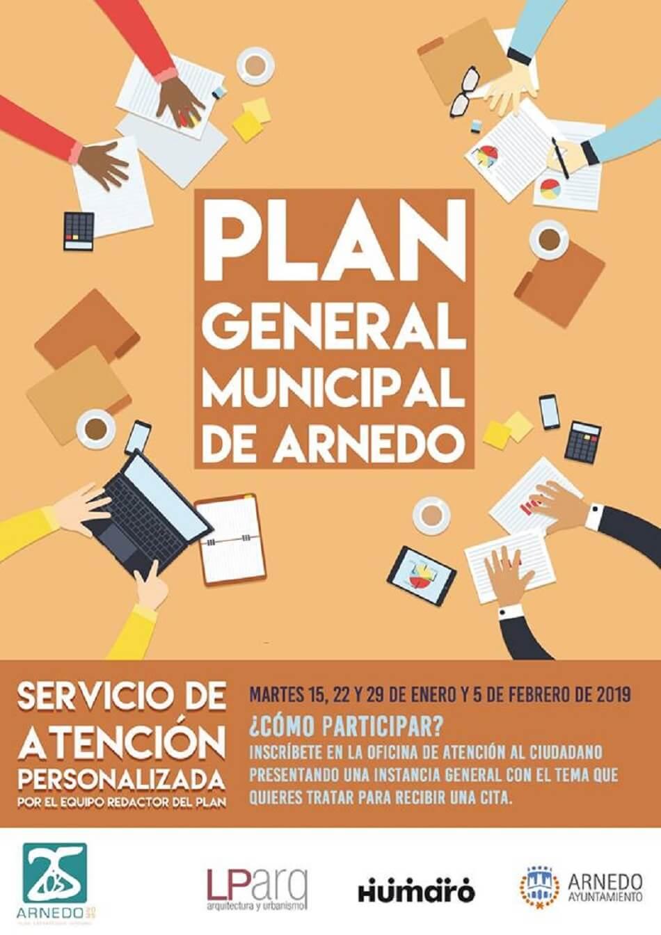 El equipo redactor del nuevo Plan General atenderá a los interesados los cuatro próximos martes