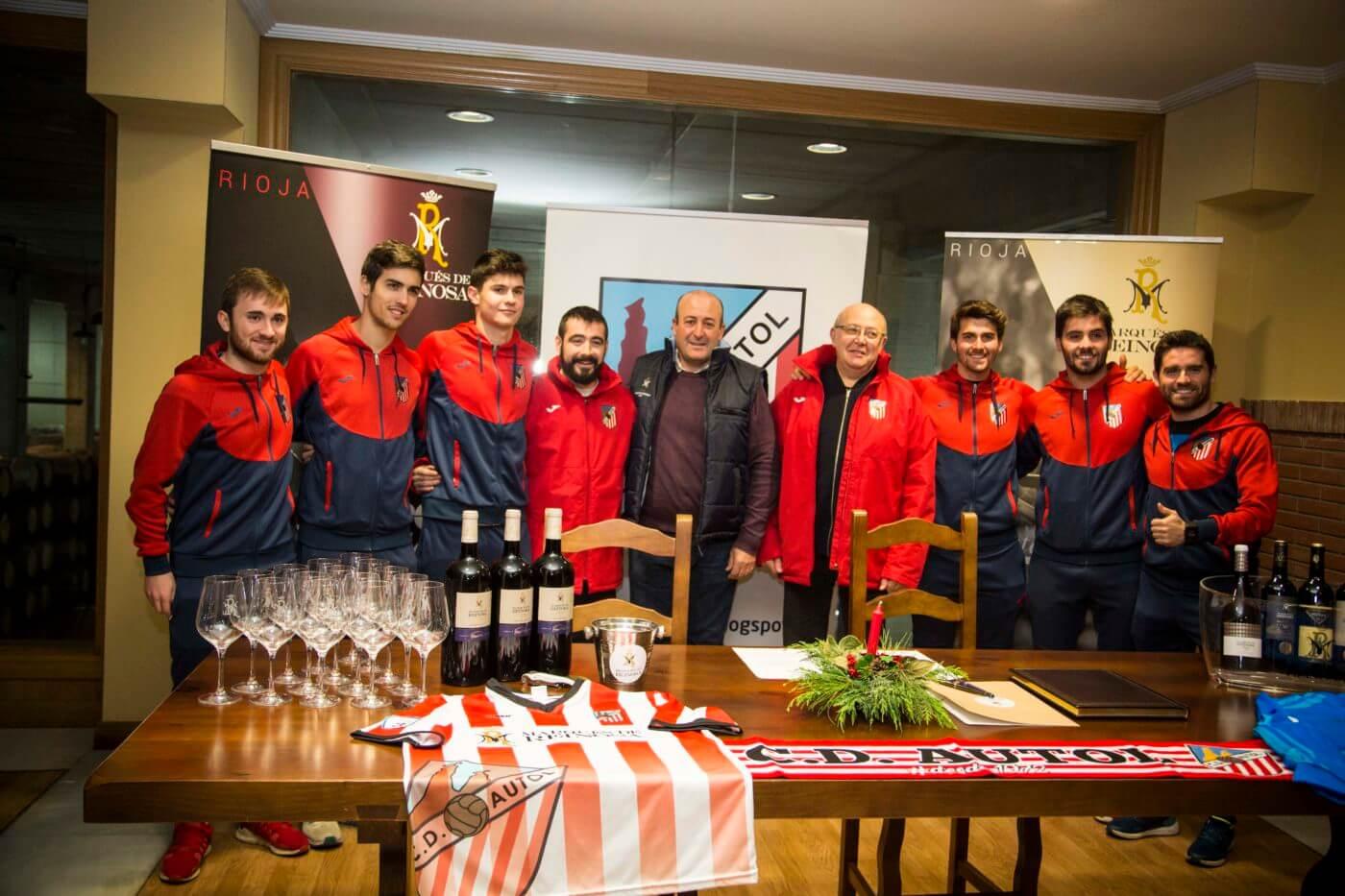 Bodegas Marqués de Reinosa patrocinará al CD Autol durante cinco temporadas