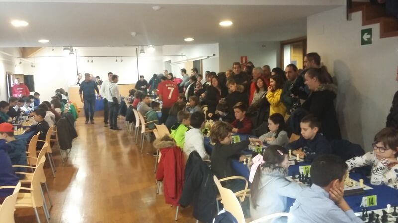 Casi 70 participantes en el XVII Torneo de Reyes Infantil del Club Ajedrez Alfaro