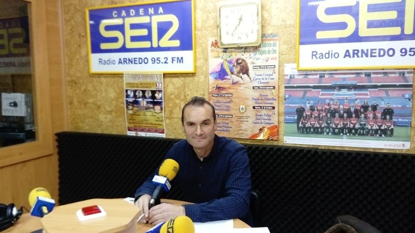 Antonio Eguizábal, a disposición del PP para ser en mayo el candidato a la Alcaldía de Arnedo