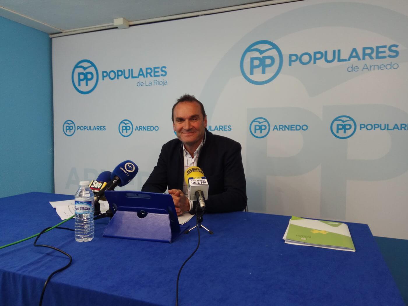 """Eguizábal (PP) insta al alcalde a """"conseguir, de una vez por todas, traer algo importante a la ciudad"""""""