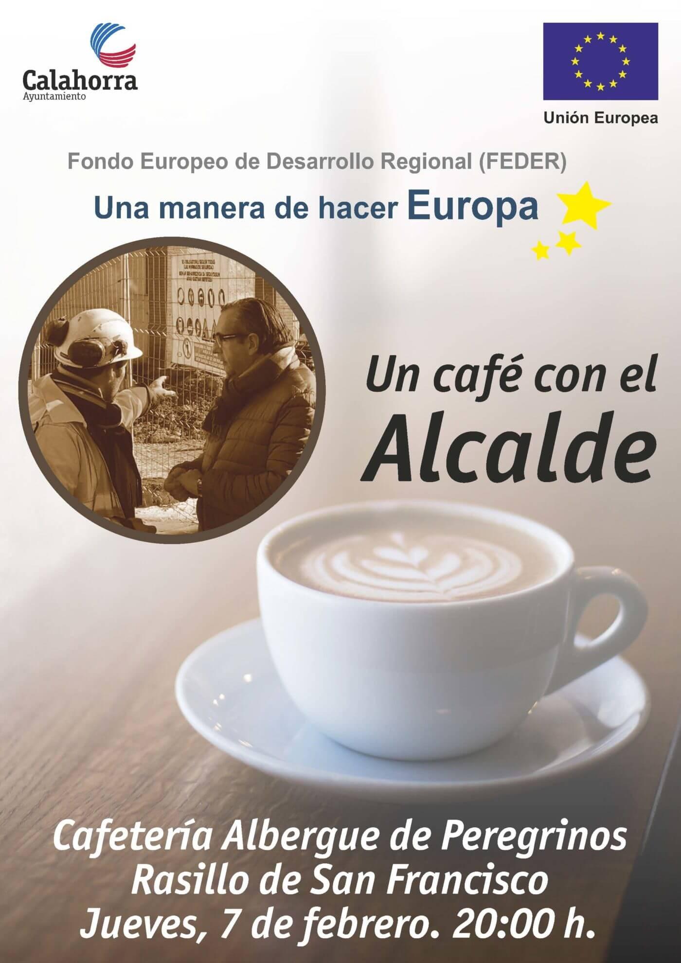 El Ayuntamiento promueve la iniciativa de participación ciudadana 'Un café con el alcalde'