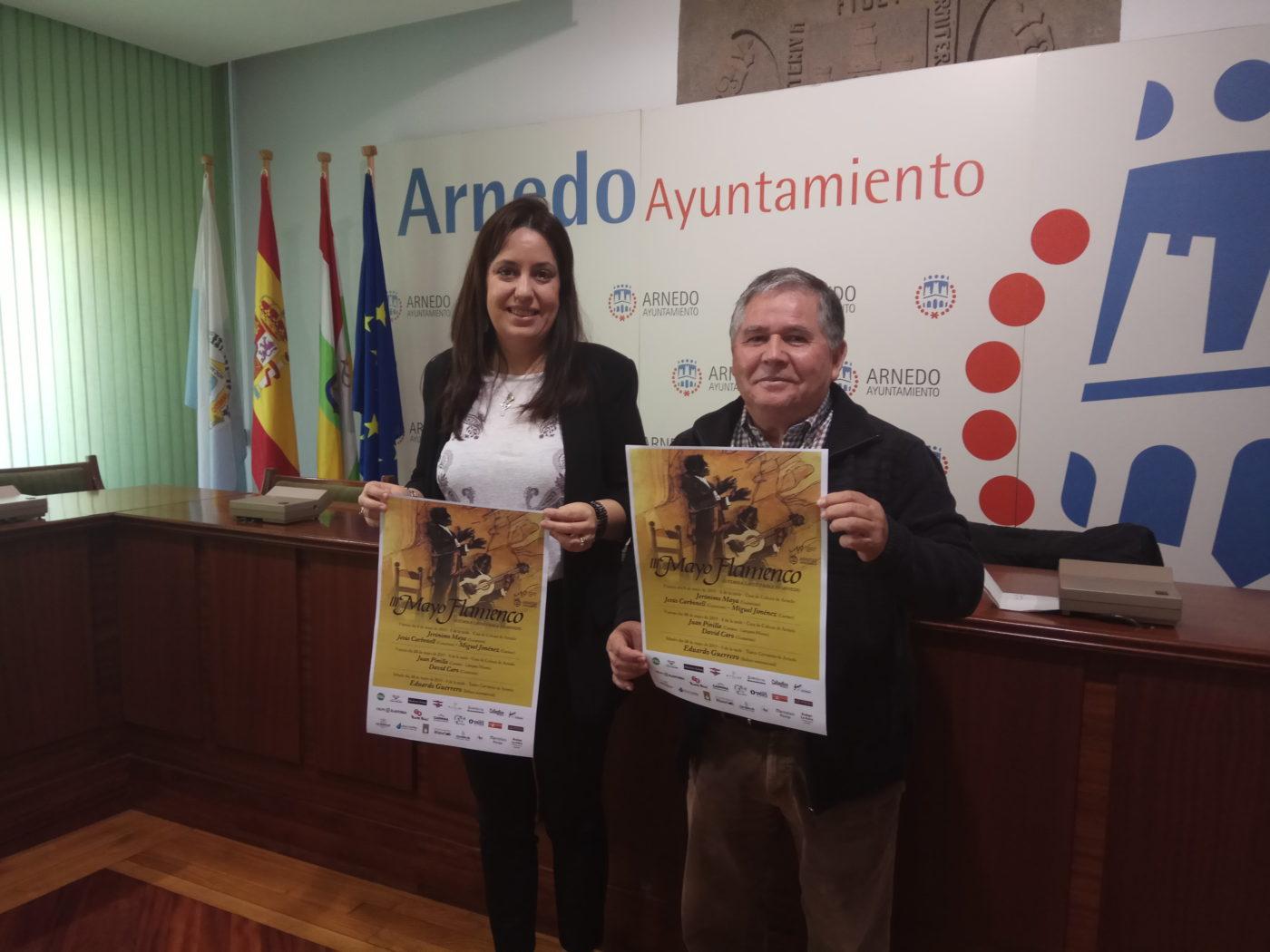 Lee más sobre el artículo El 'III Mayo Flamenco' traerá a Arnedo a Jerónimo Maya, Juan Pinilla, David Caro y Eduardo Guerrero