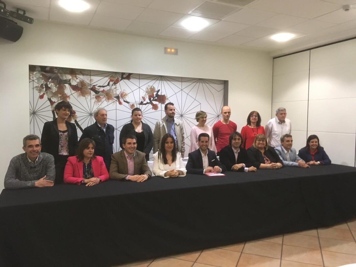 PSOE Arnedo presenta su candidatura completa a las elecciones municipales