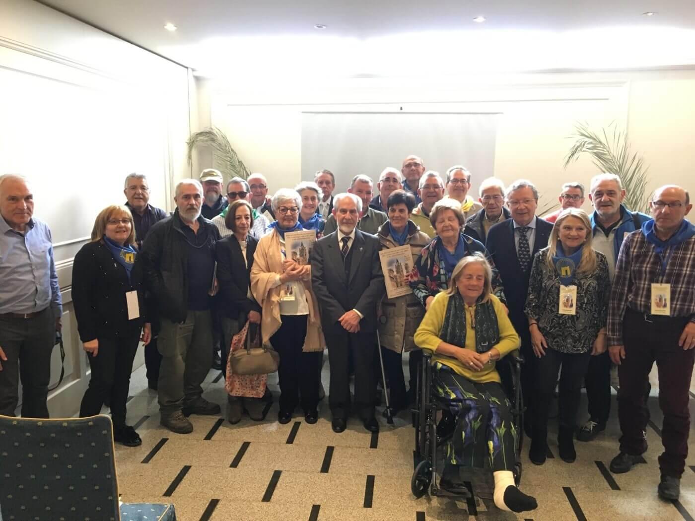 Alfaro acogerá el próximo año el XX Encuentro de Asociaciones del Camino Jacobeo del Ebro y del Mediterráneo