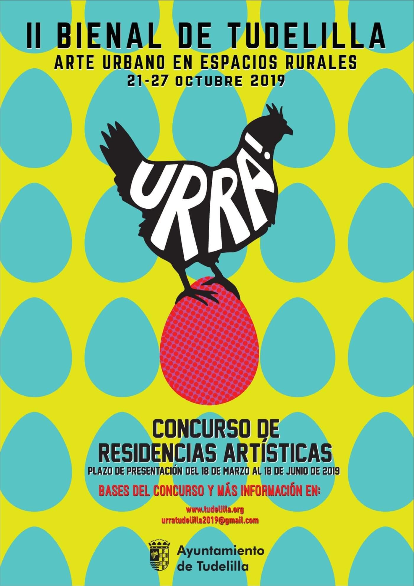 El ayuntamiento de Tudelilla convoca el concurso de Residencias Artísticas para la 'II Bienal de Tudelilla. Arte Urbano en espacios rurales'