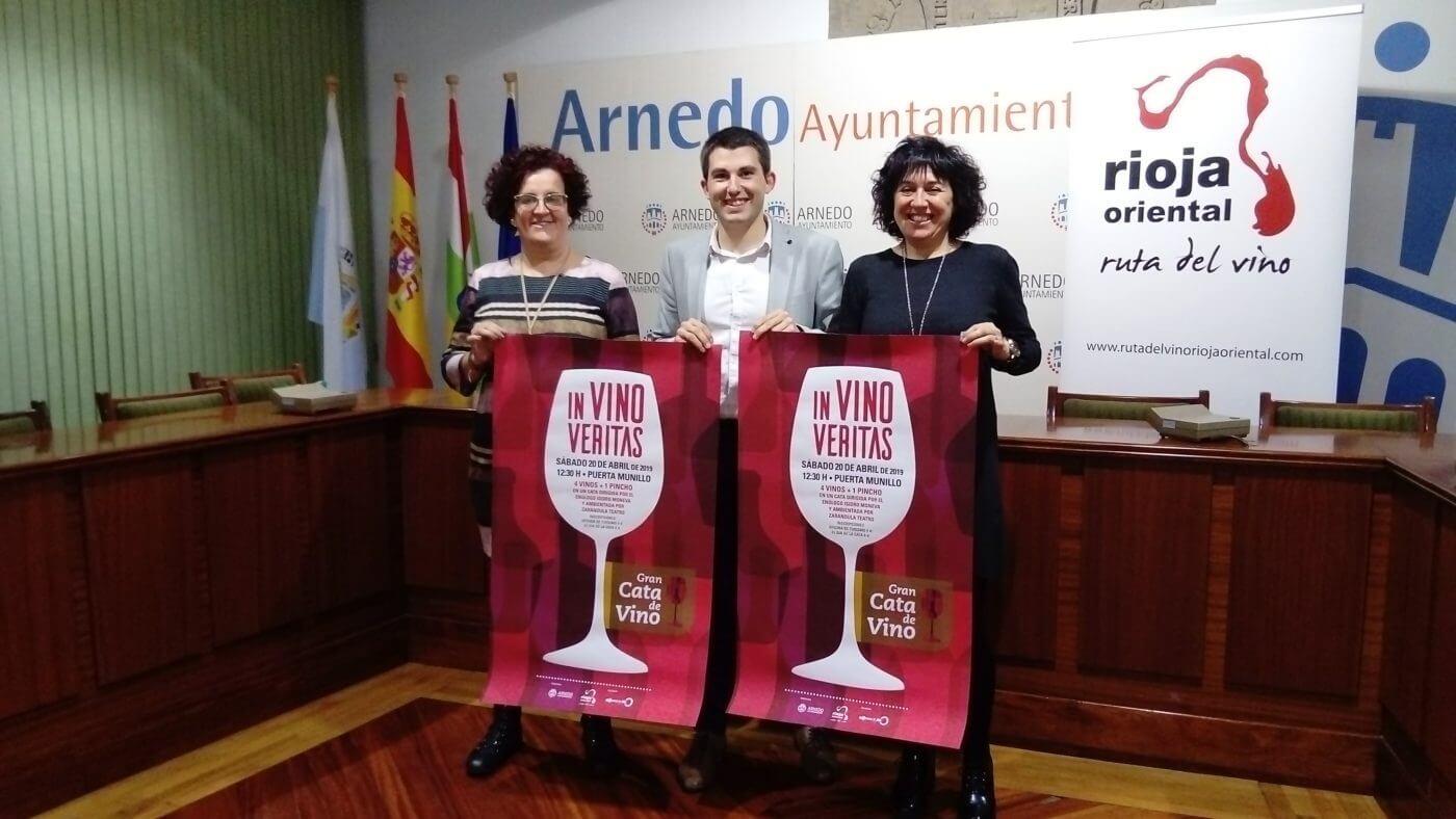 La Puerta Munillo de Arnedo acogerá el sábado 20 de abril una gran cata de vinos para 200 personas