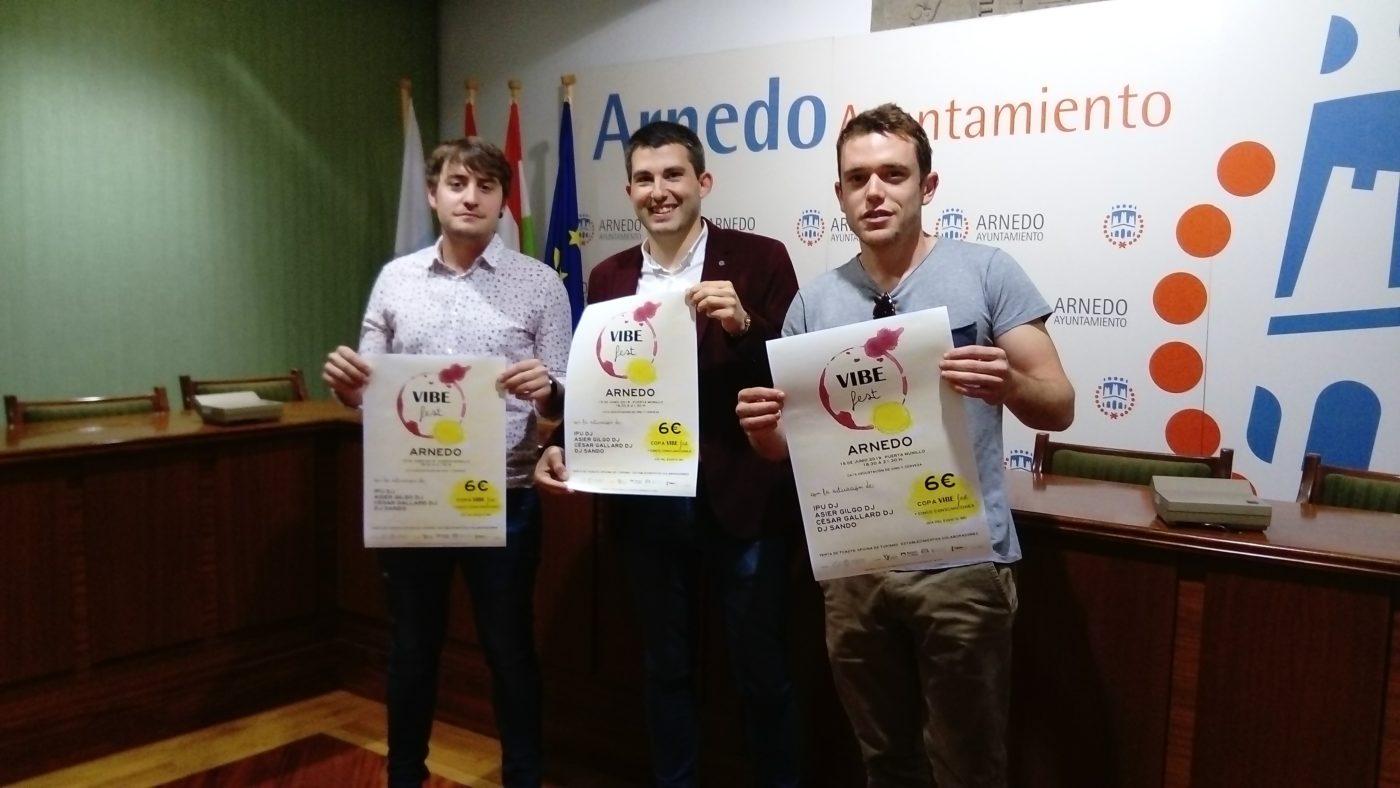 La Puerta Munillo de Arnedo acogerá el 15 de junio el II Festival VIBE Fest