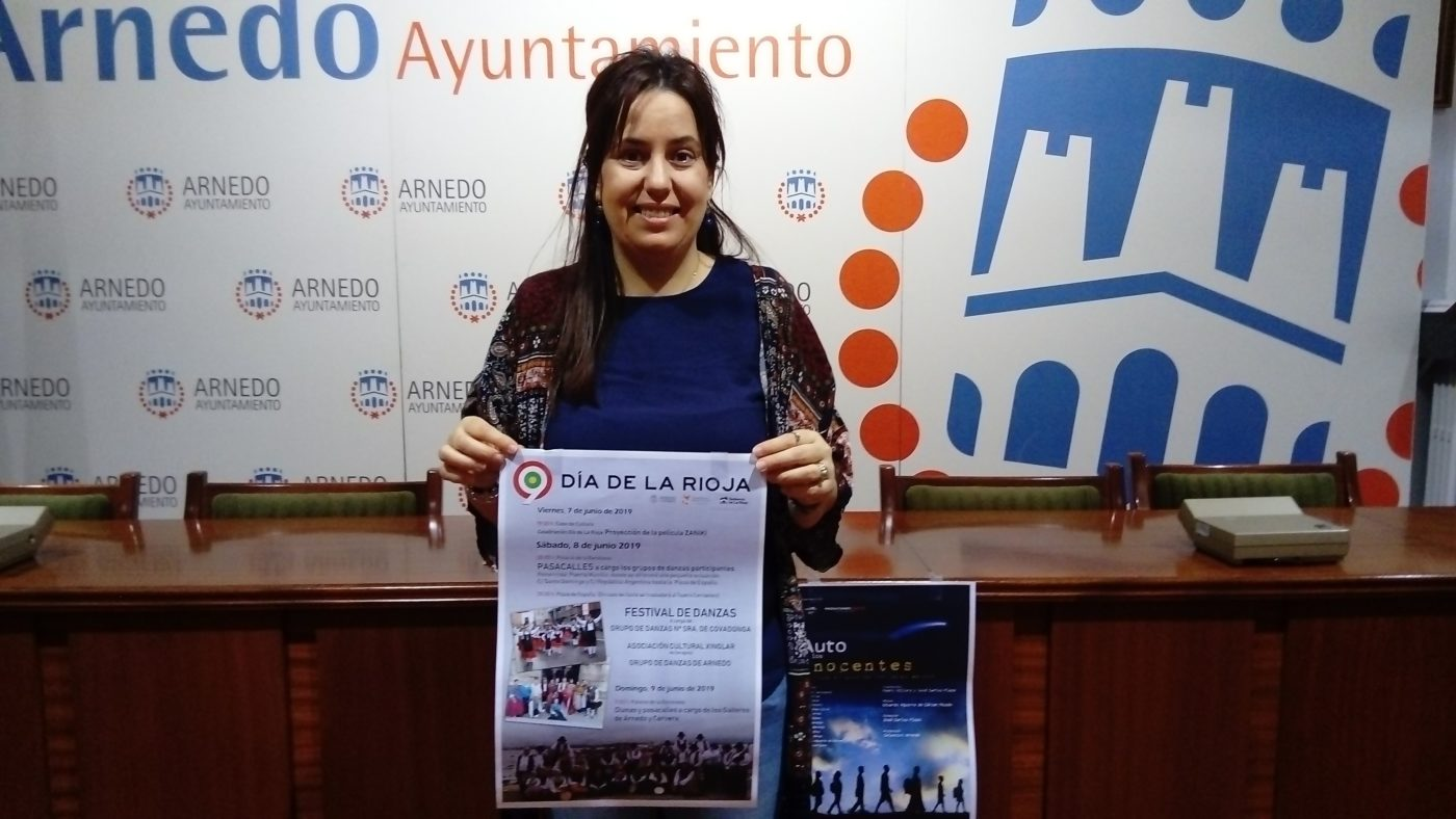 El Festival de Danzas centra en Arnedo los actos del 'Día de La Rioja'