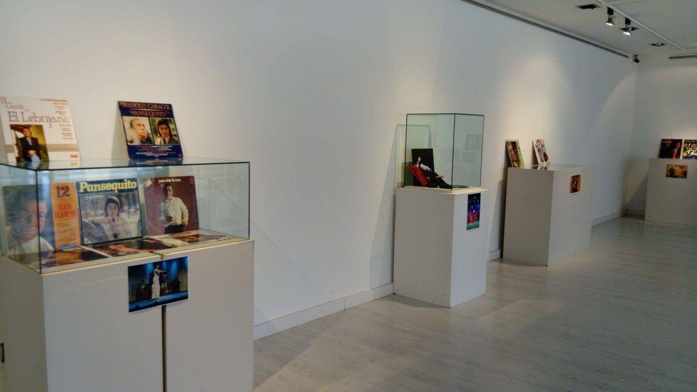 Exposición sobre el flamenco en el Centro Fundación Caja Rioja-Bankia de Arnedo