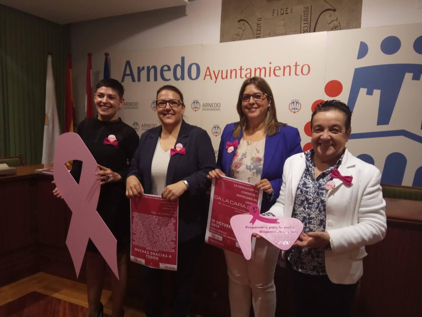 La AECC y la Asociación de Comercio y Hostelería volverán a 'dar la cara' contra el cáncer el día 19