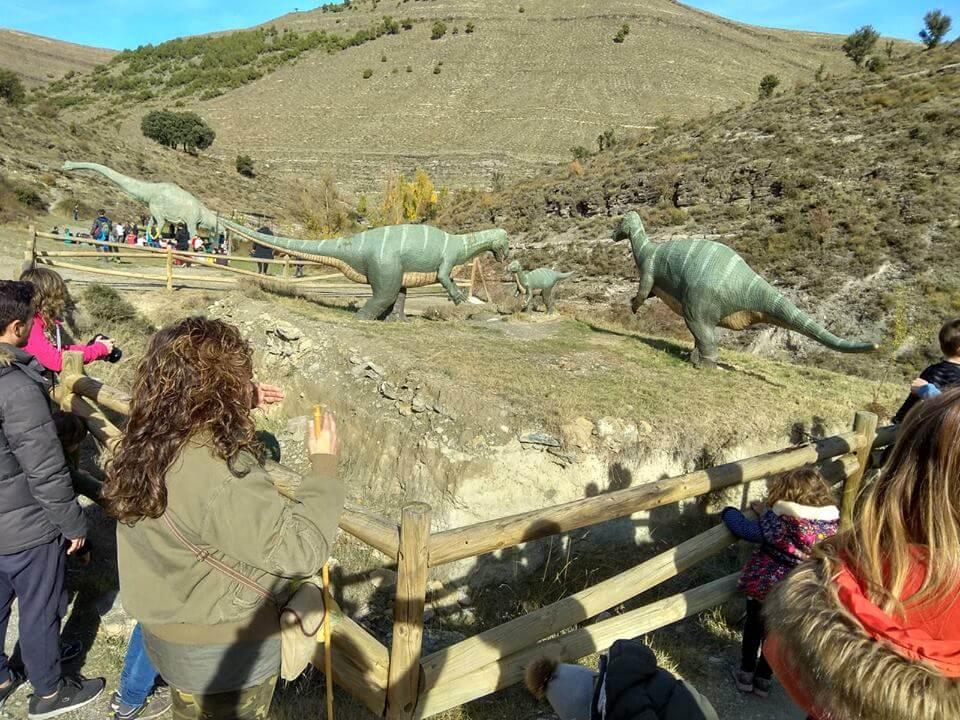 El 'Barranco Perdido' de Enciso cierra temporada con visitas especiales para los puentes de noviembre y diciembre