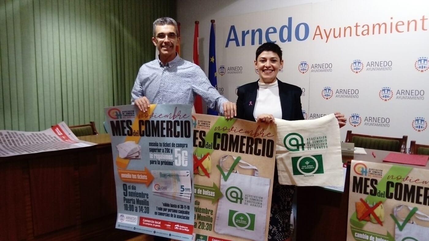 La Asociación de Comercio y Hostelería de Arnedo presenta sus promociones para el 'Mes del Comercio'