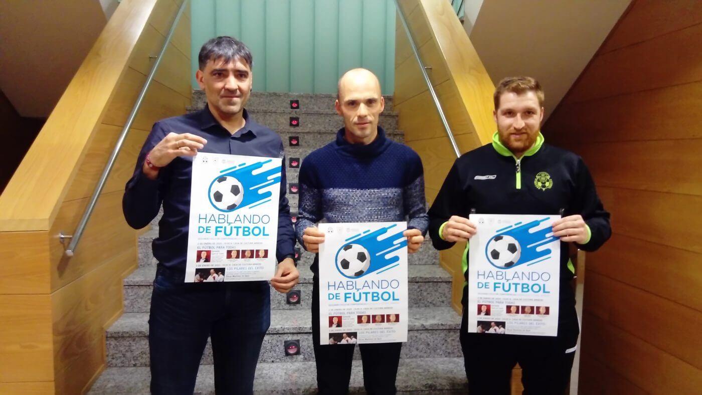 La Escuela de Fútbol de Arnedo organiza charlas los días 2 y 3 de enero en la Casa de Cultura
