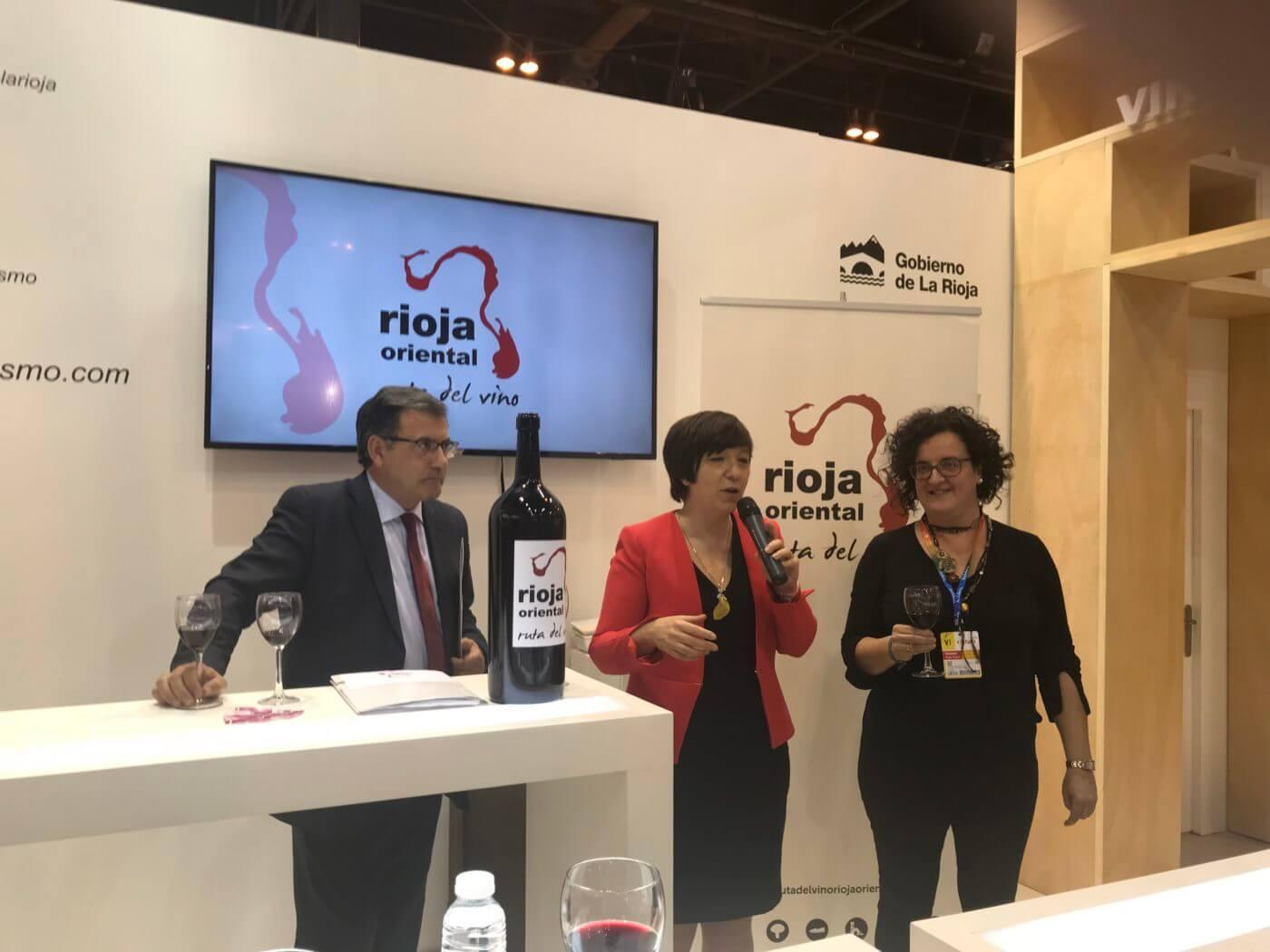 La Ruta del Vino de Rioja Oriental realizará dos presentaciones en FITUR el próximo 22 de enero