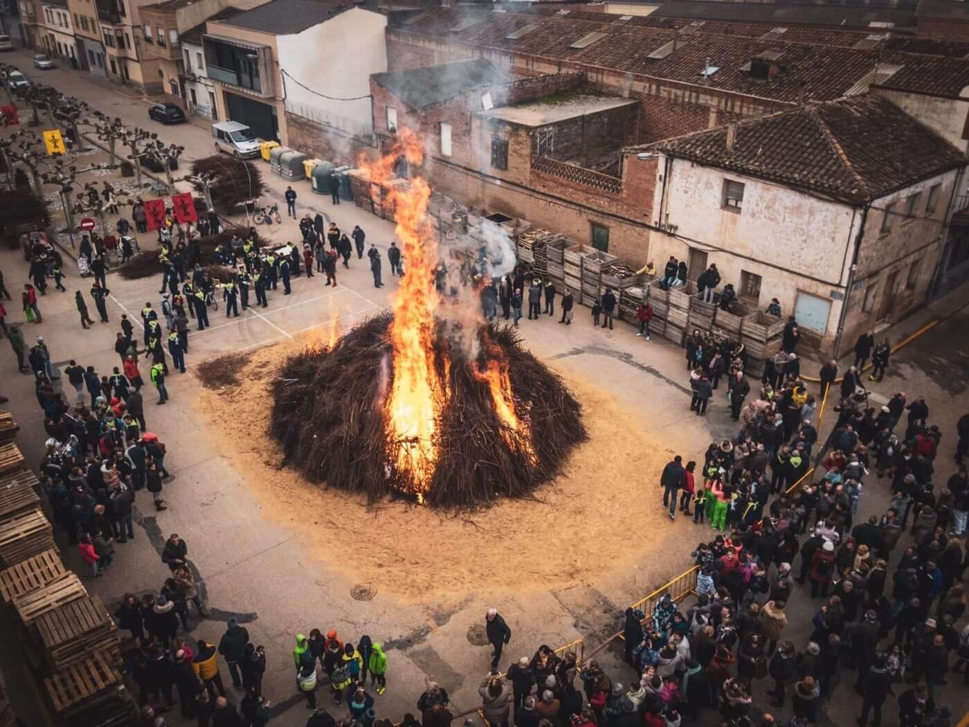 Antea Ibáñez será este año la Cofrade Mayor de la hoguera de San Antón de Rincón de Soto