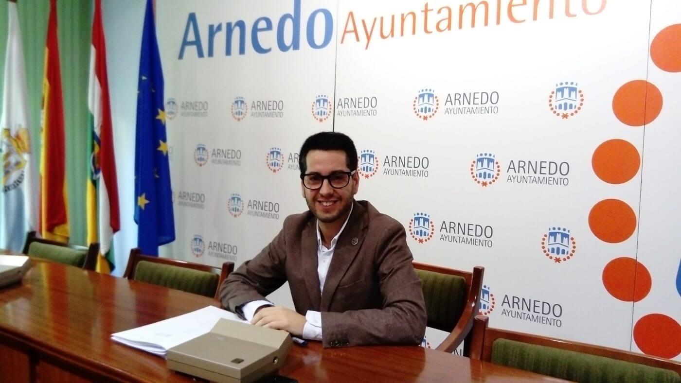 El alcalde de Arnedo muestra su satisfacción por el primer Presupuesto Regional de Andreu que compromete un millón de euros para Planarresano