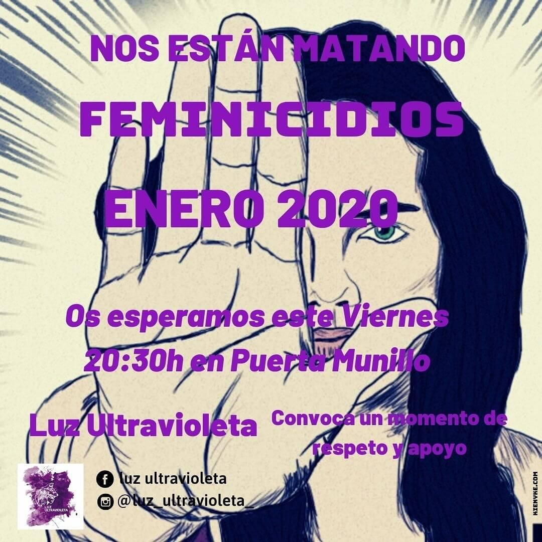 El colectivo 'Luz  Ultravioleta' de Arnedo convocará concentraciones mensuales contra los asesinatos machistas