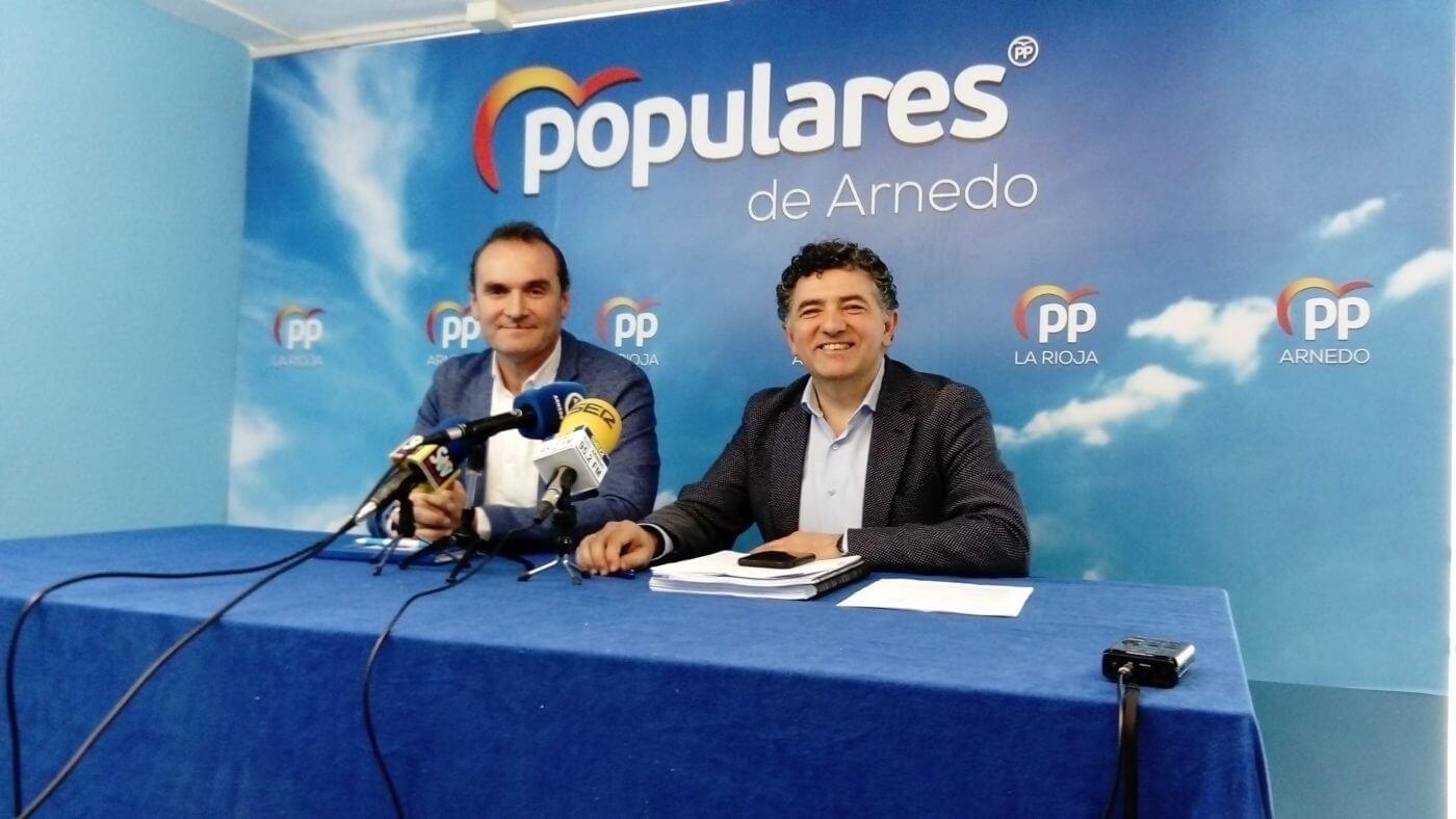 """PP cree que el alcalde de Arnedo """"estaba más contento"""" con un Gobierno regional popular"""