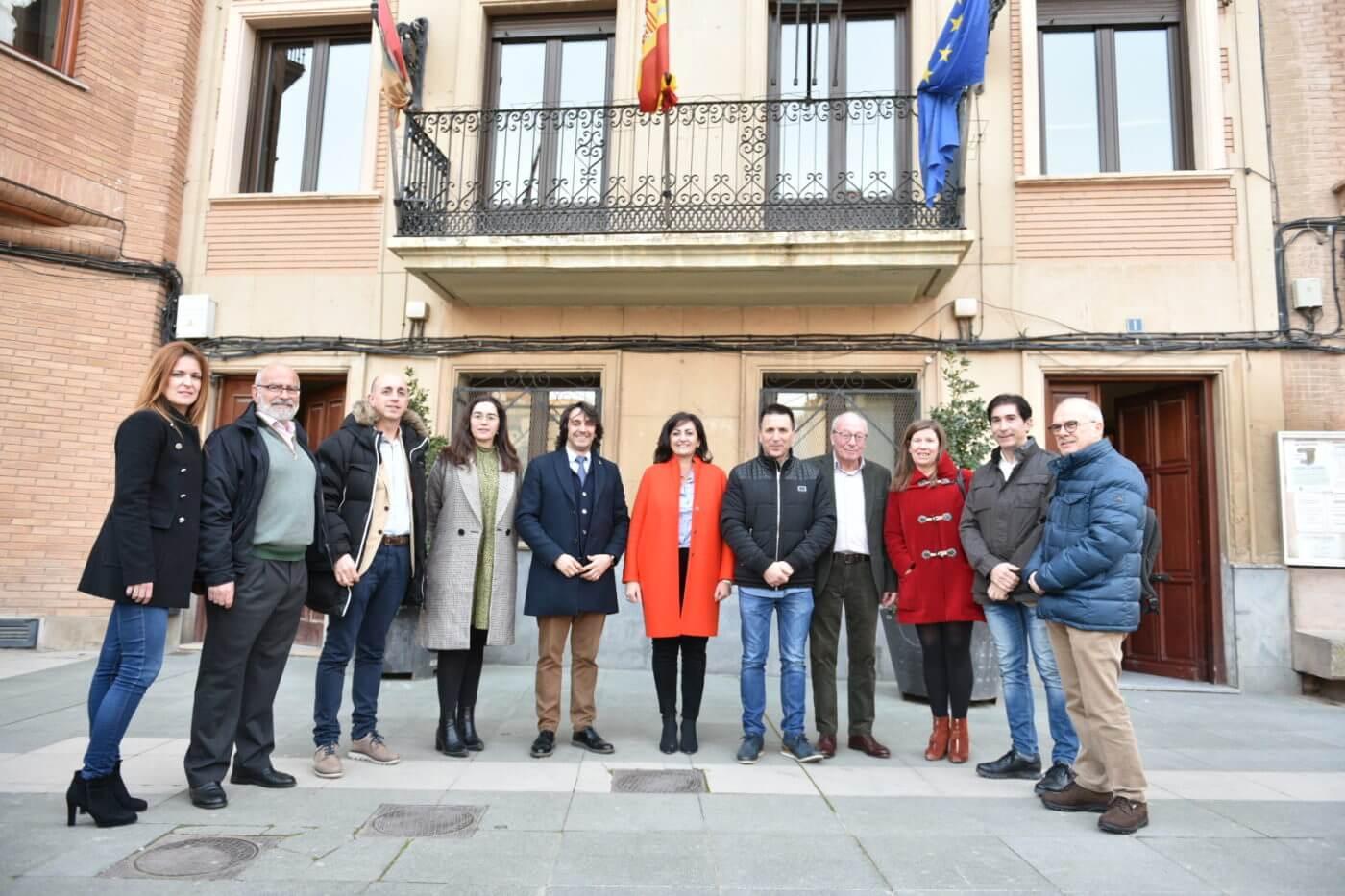 La presidenta Andreu se reúne con los alcaldes de Alfaro y de la comarca de Calahorra para conocer sus demandas