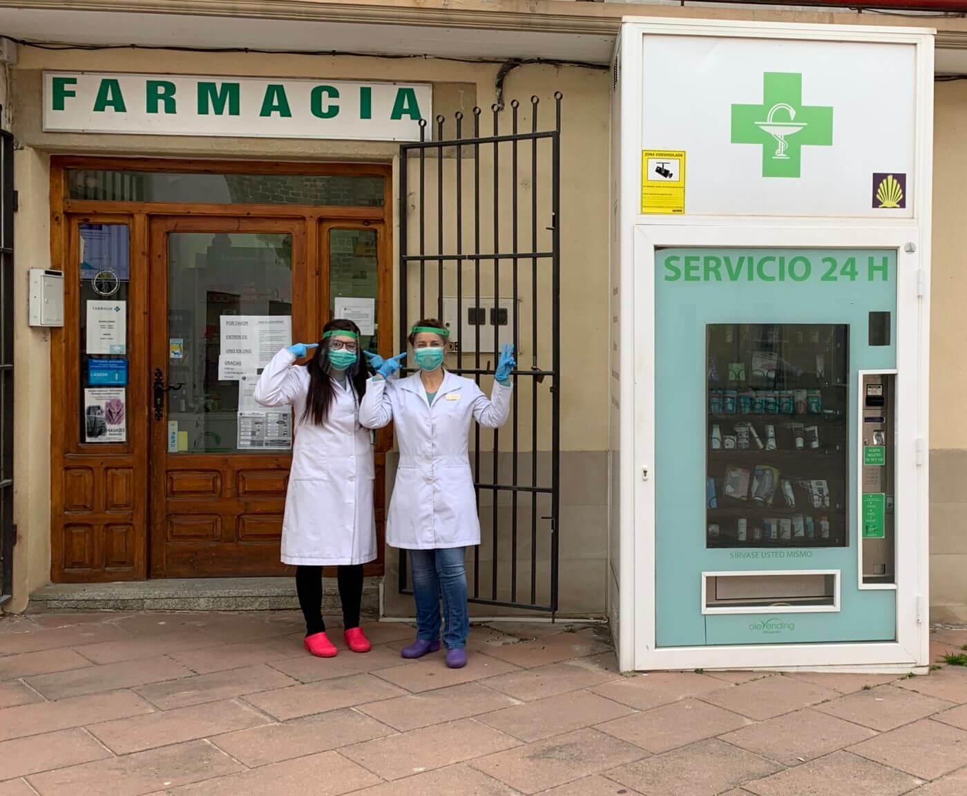 El Colegio de Farmacéuticos distribuye máscaras protectoras para los 650 trabajadores de las 156 oficinas de farmacia de La Rioja