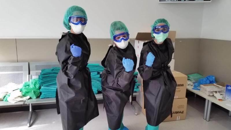 Decenas de empresas riojanas participan en la producción de material sanitario esencial
