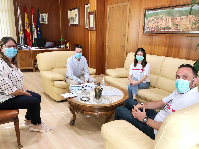 El ayuntamiento de Arnedo intensificará la colaboración con Cruz Roja a través de la mejora del actual convenio