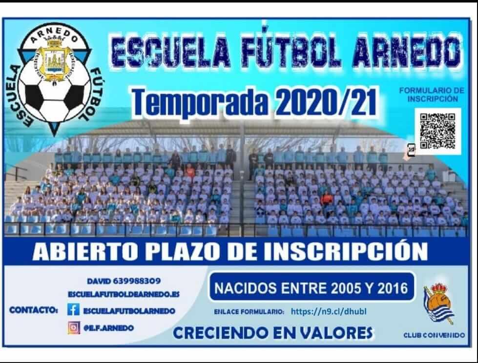 La Escuela de Fútbol de Arnedo inicia inscripciones para la nueva temporada