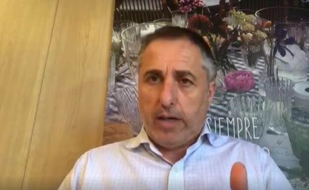 Un vídeo del hotelero arnedano Demetrio Domínguez pone voz al enfado de quienes todavía no han cobrado las prestaciones de los ERTE