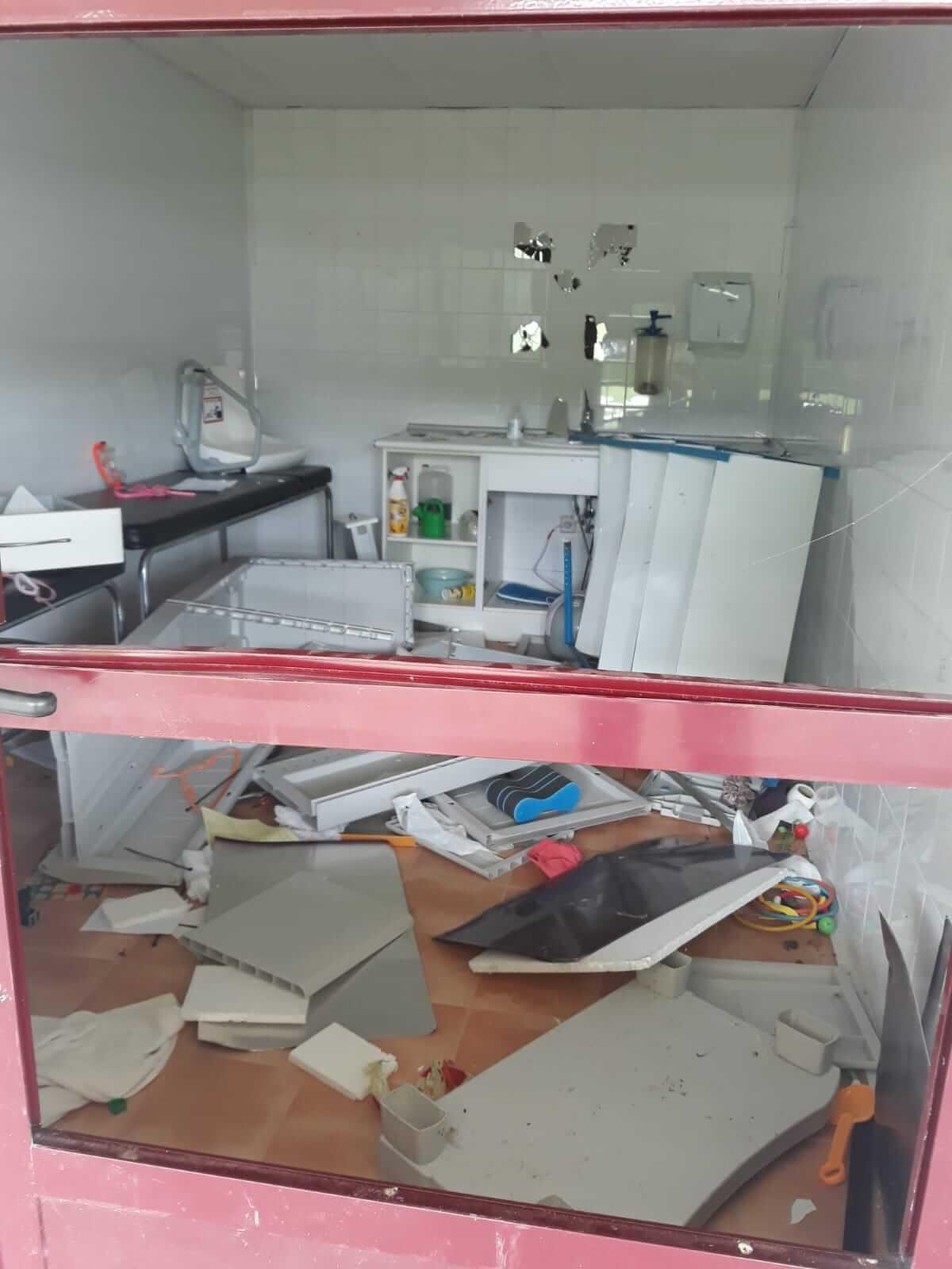 El ayuntamiento de Pradejón denuncia acto vandálico en el cuarto del socorrista de las piscinas municipales