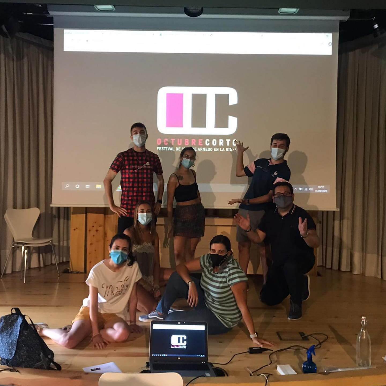 El festival de cine 'Octubre Corto' trabaja para que los cortometrajes se puedan ver de forma presencial y también online
