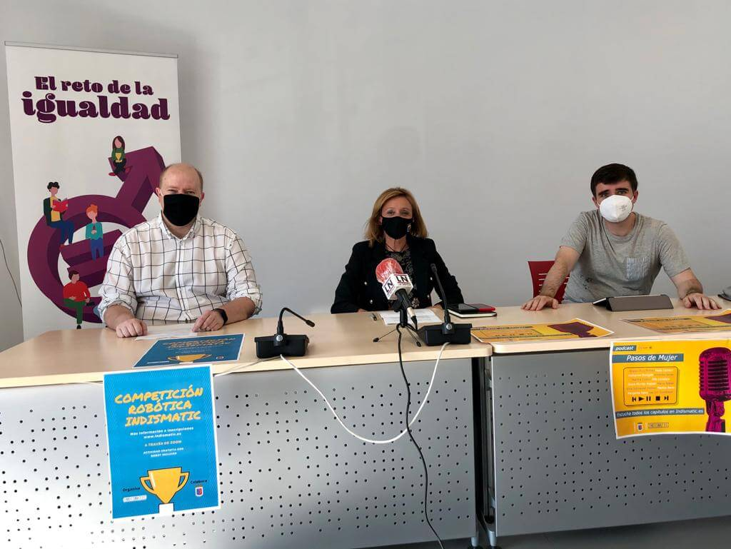 El ayuntamiento de Calahorra e Indismatic presentan dos proyectos para fomentar la igualdad