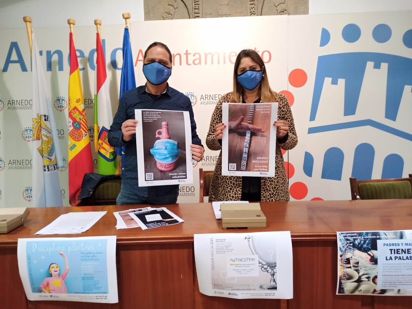 El Ayuntamiento de Arnedo retoma las Escuelas de Familias e impulsa una campaña para ayudar a los más jóvenes a adaptarse ante la pandemia