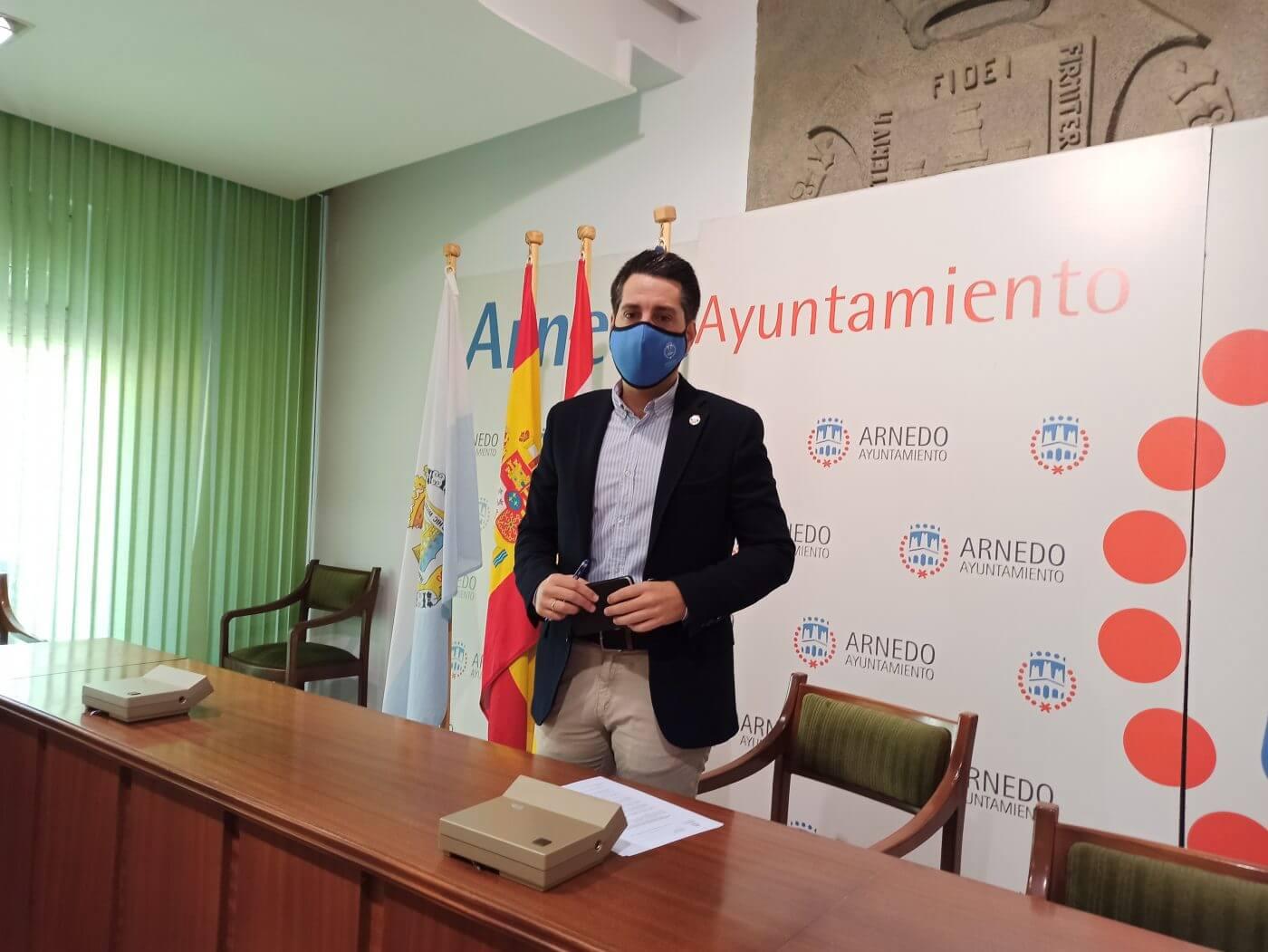 El alcalde de Arnedo anima a comerciantes, hosteleros y autónomos a solicitar las ayudas municipales y las de la ADER