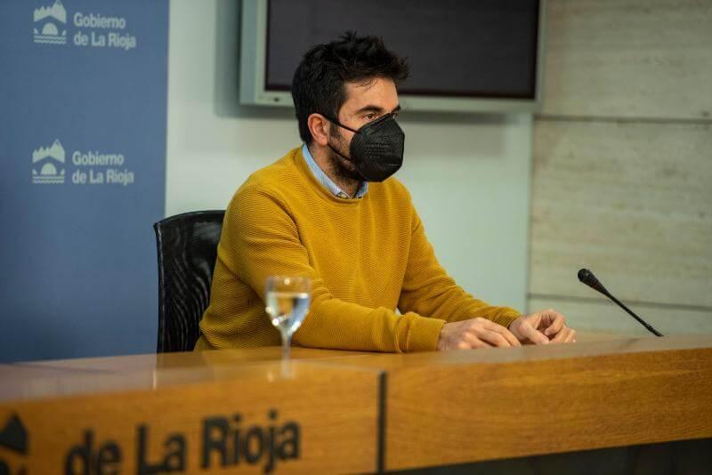 """El consejero Dorado Nájera afirma que el protocolo del tramo Castejón-Logroño es """"un paso histórico"""" en la modernización de las infraestructuras ferroviarias de La Rioja"""