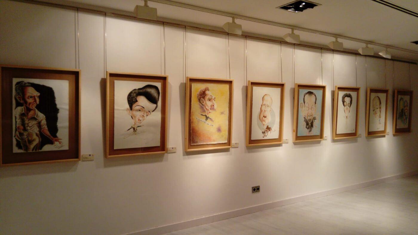 El Centro Fundación Caja Rioja-Bankia de Arnedo acoge exposición de caricaturas de Fredy Rodríguez