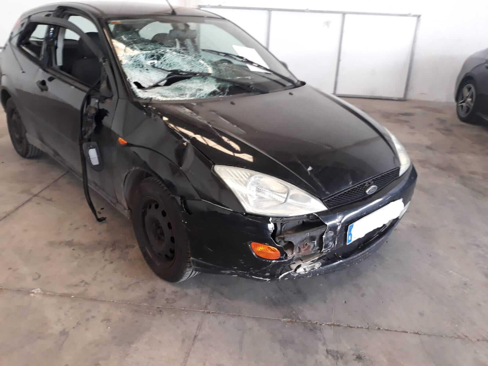 La Policía Local de Calahorra localiza el vehículo que ocasionó daños en el vallado del Paseo del Mercadal