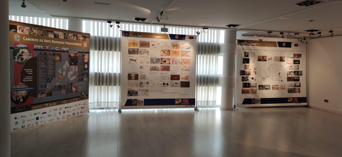 El Centro Fundación Cajarioja-Bankia de Arnedo acoge hasta el 17 de marzo la exposición del concurso europeo de dibujo sobre arte rupestre