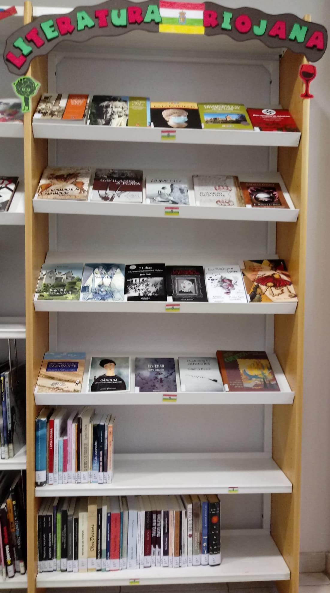 La biblioteca municipal de Calahorra estrena una nueva sección dedicada a la literatura riojana