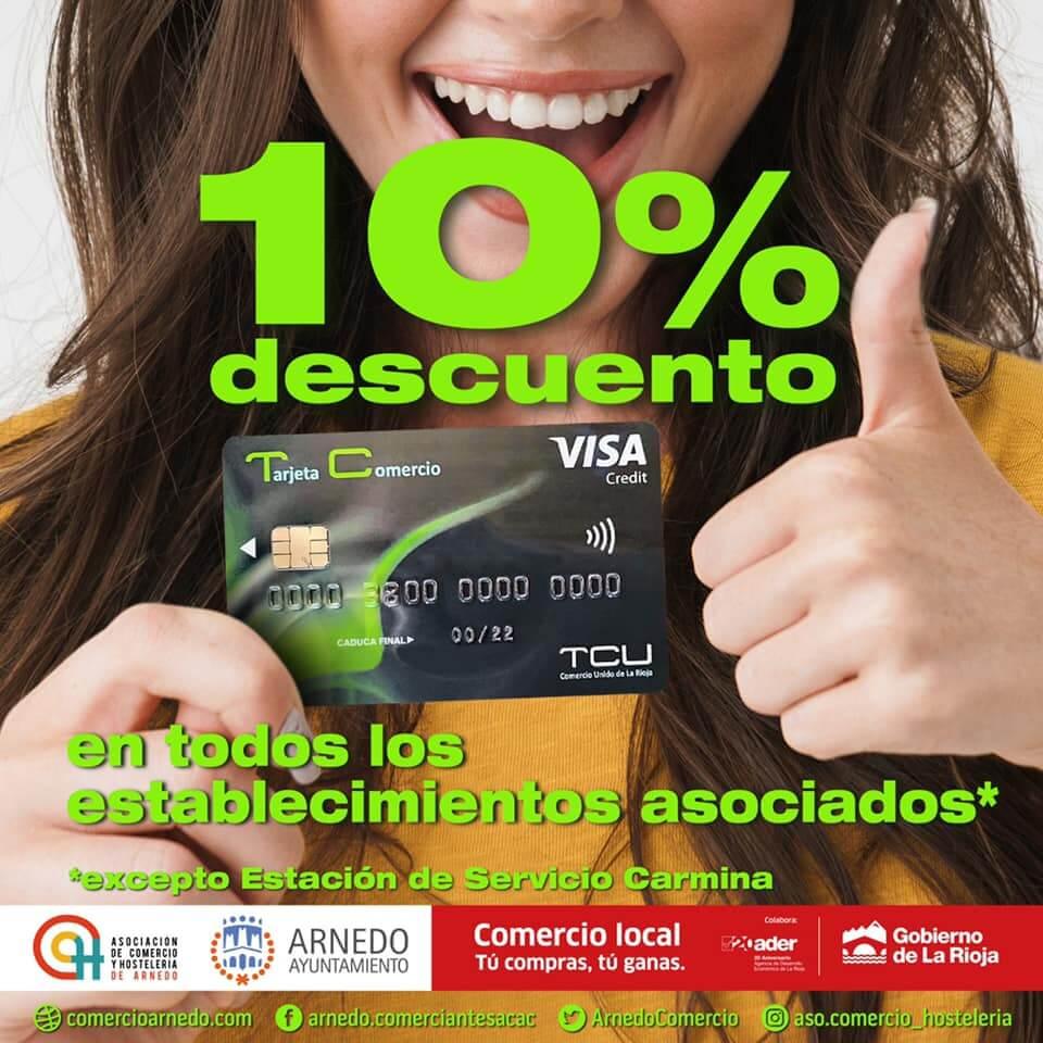 La Asociación de Comercio y Hostelería de Arnedo pone en marcha una nueva campaña por compras con la TCU
