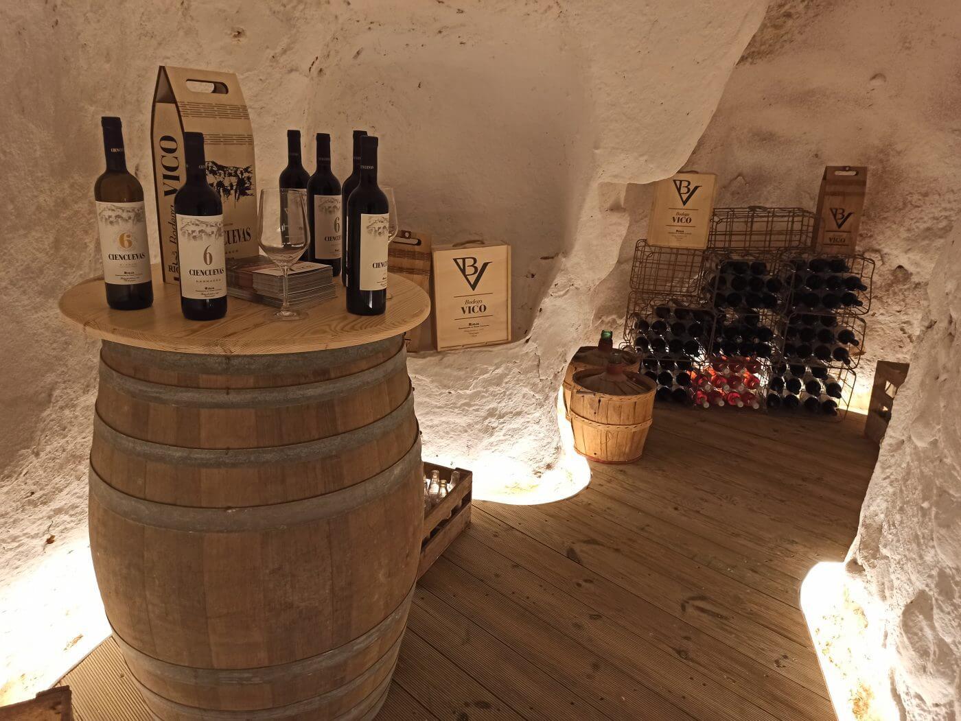 La Bodega Vico de Arnedo, presente en las Cuevas de los Cien Pilares, pone en marcha una tienda online y prepara su nueva tienda física