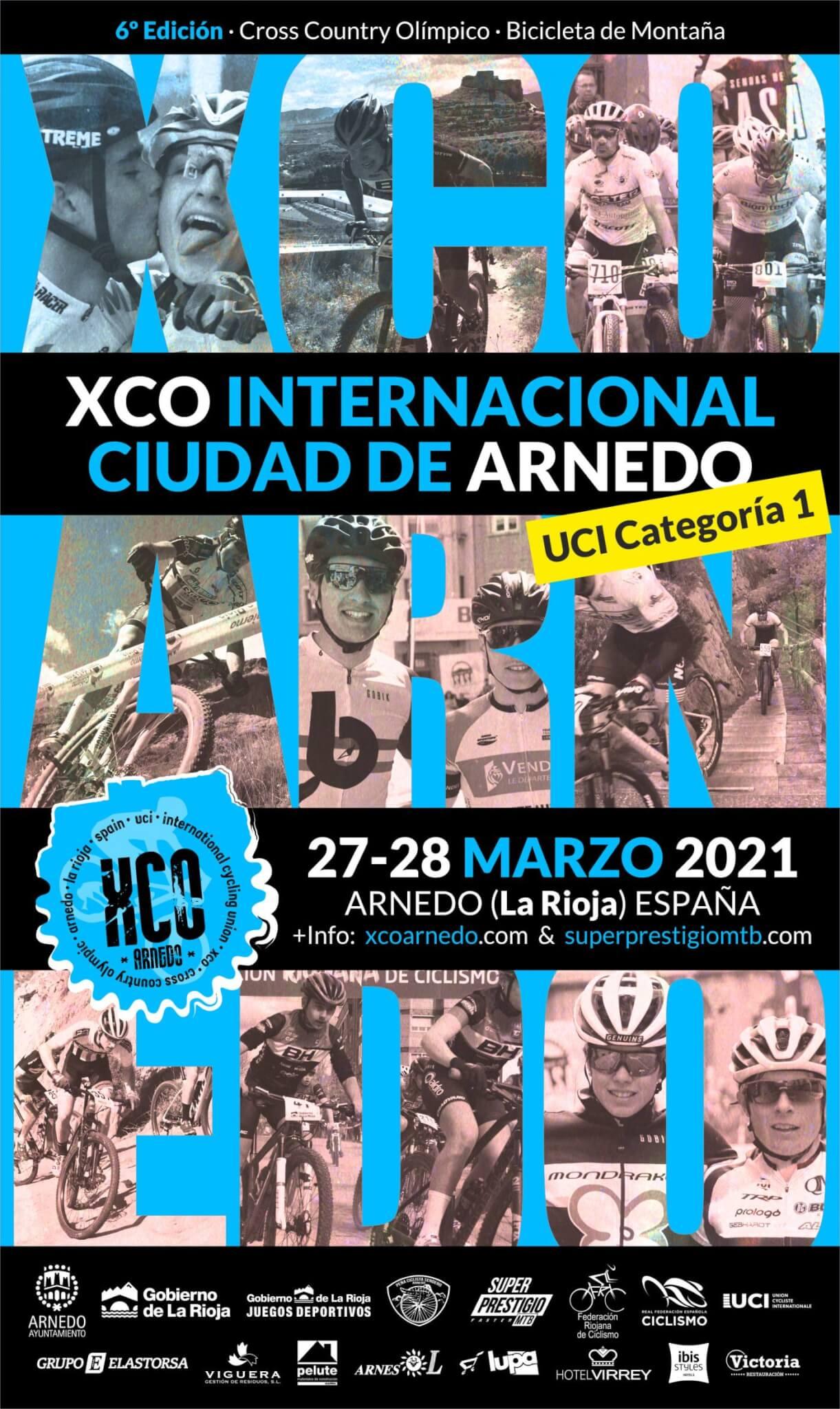 Arnedo acogerá este fin de semana la primera prueba XCO internacional del VI Torneo Superprestigio MTB Faster