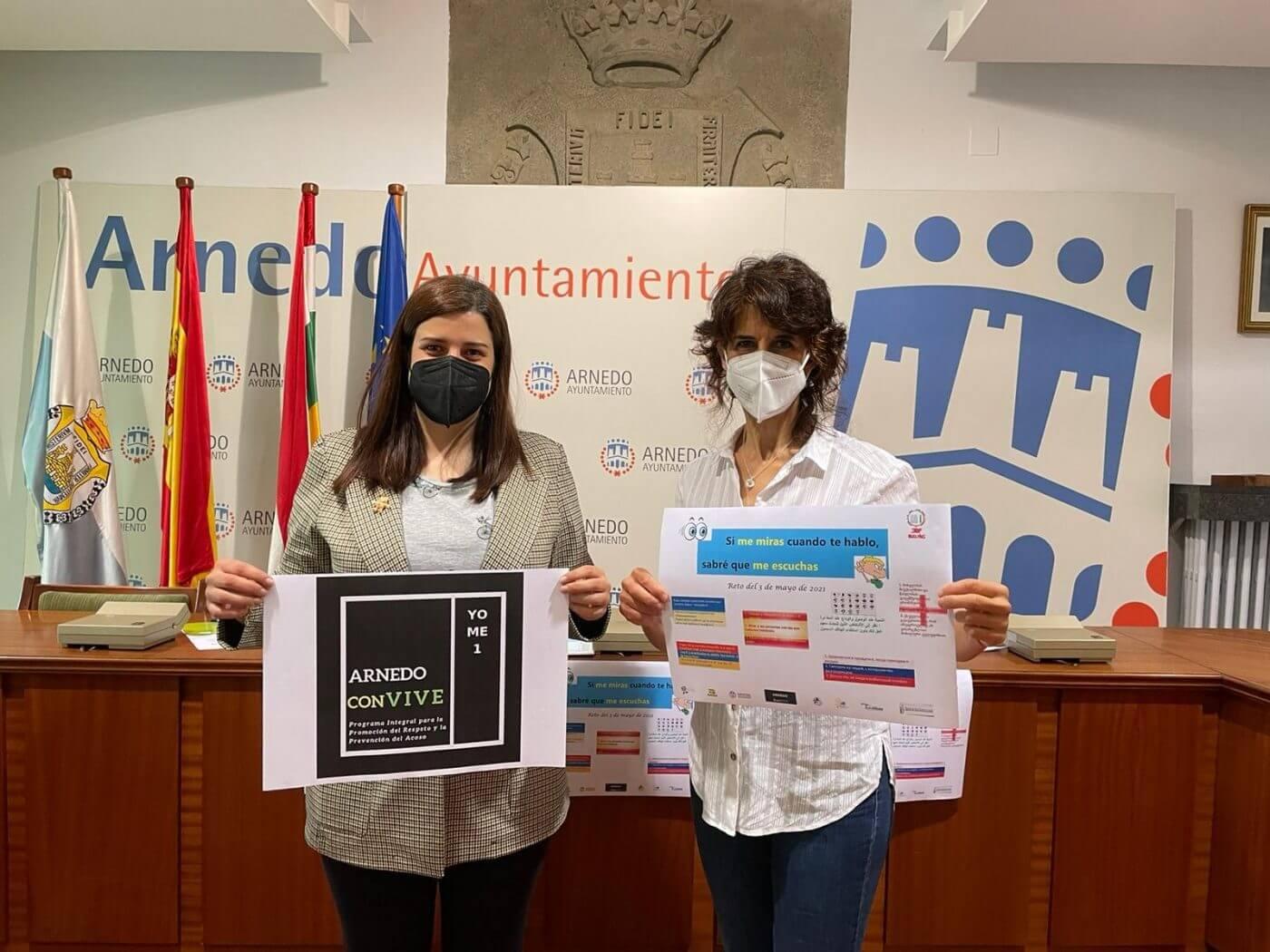 'Arnedo Convive' lanza un reto a toda la ciudadanía con motivo del 'Día Internacional contra el Acoso Escolar'