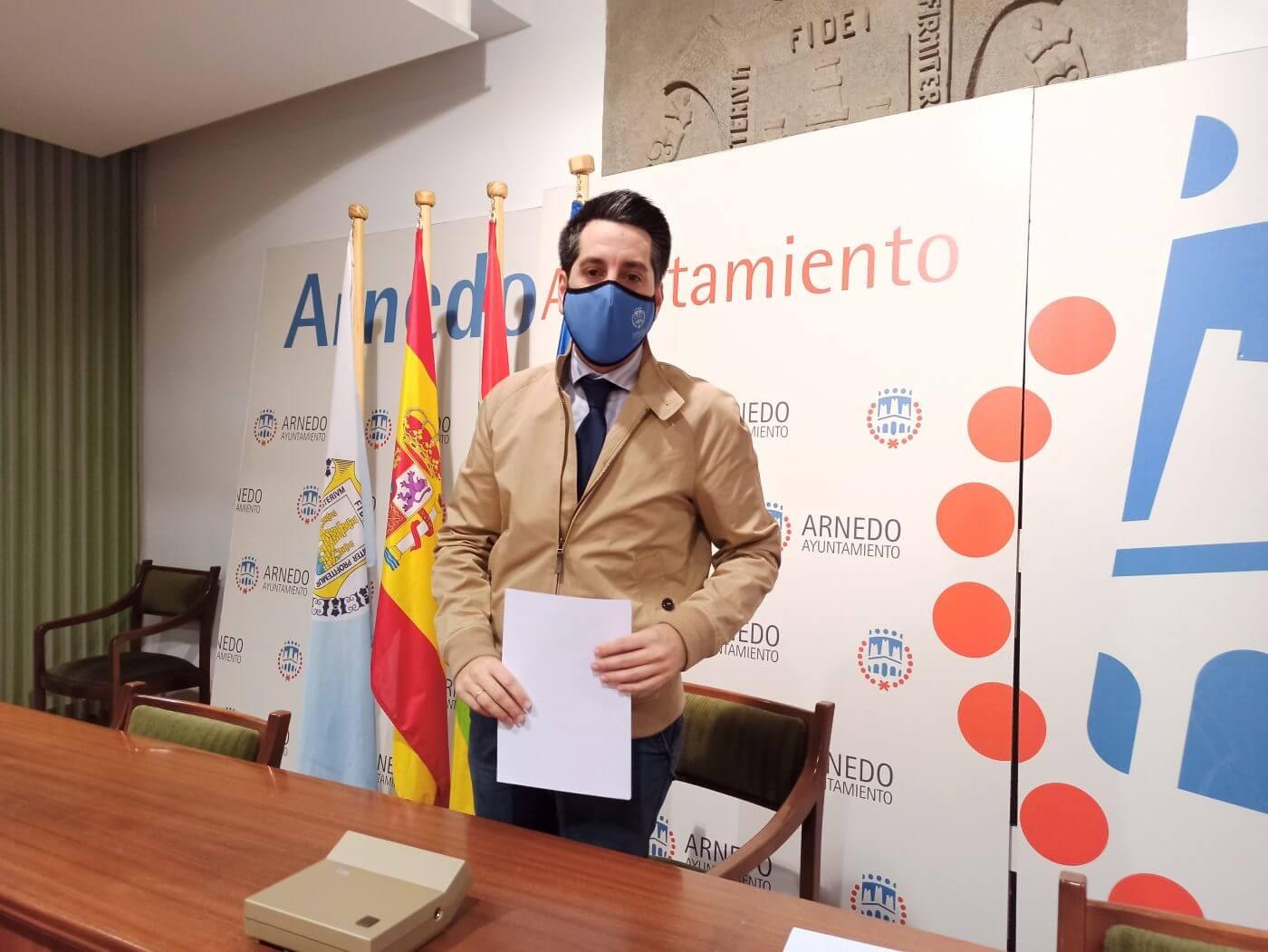 El alcalde de Arnedo vuelve a apelar a la responsabilidad, confiado en que la situación epidemiológica vaya mejorando