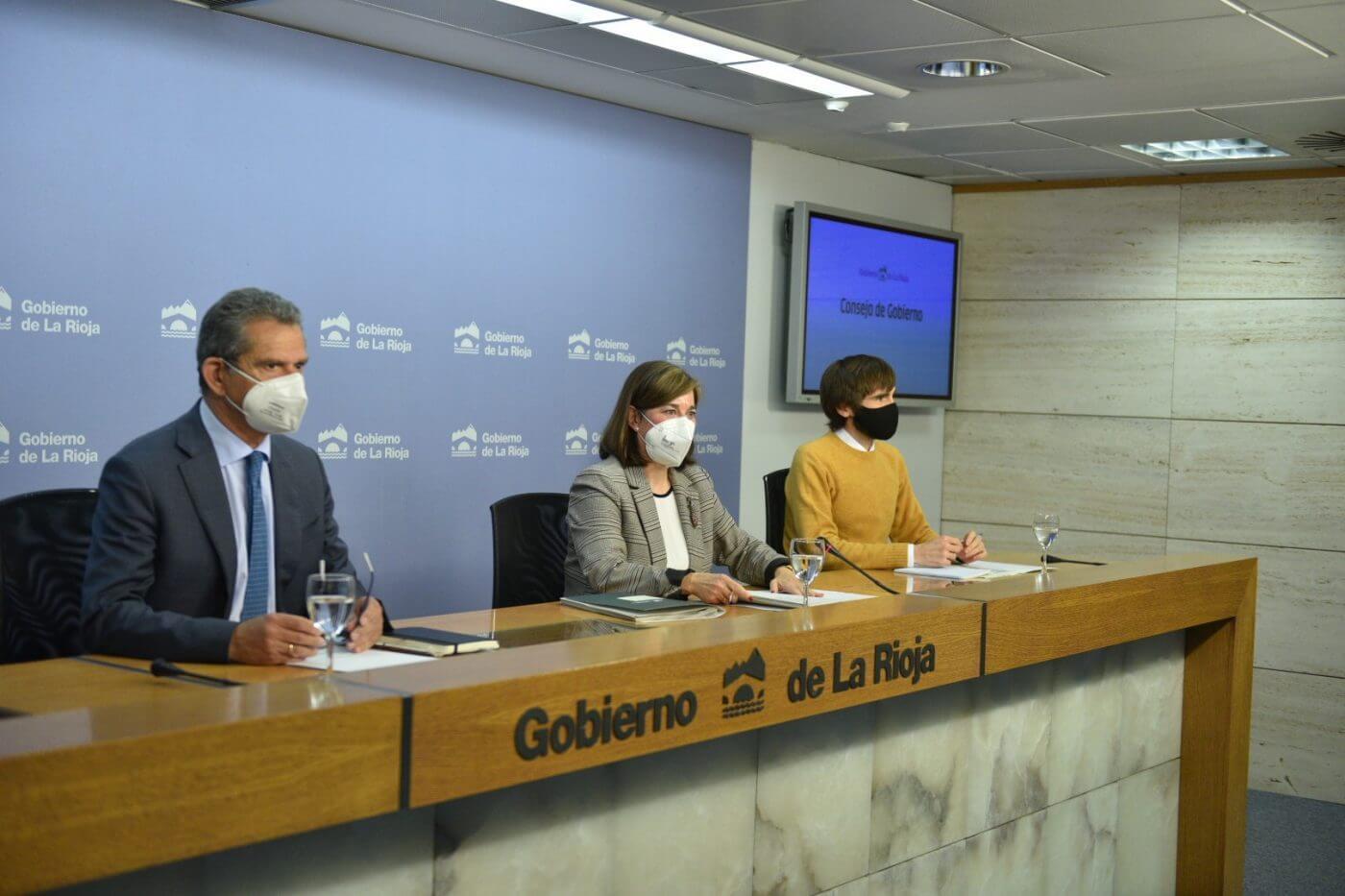 El Gobierno de La Rioja extiende los efectos del Auto del TSJR a todo el territorio