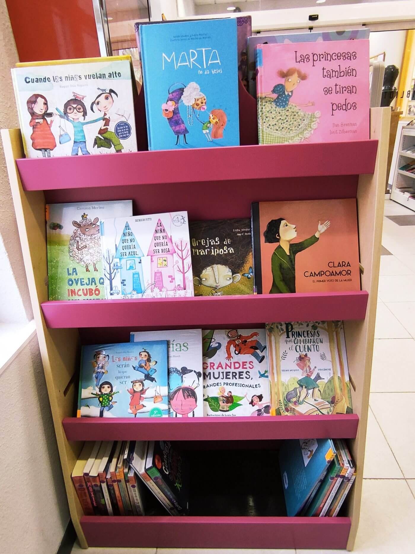 La Biblioteca Municipal de Calahorra crea un 'Punto Violeta' infantil