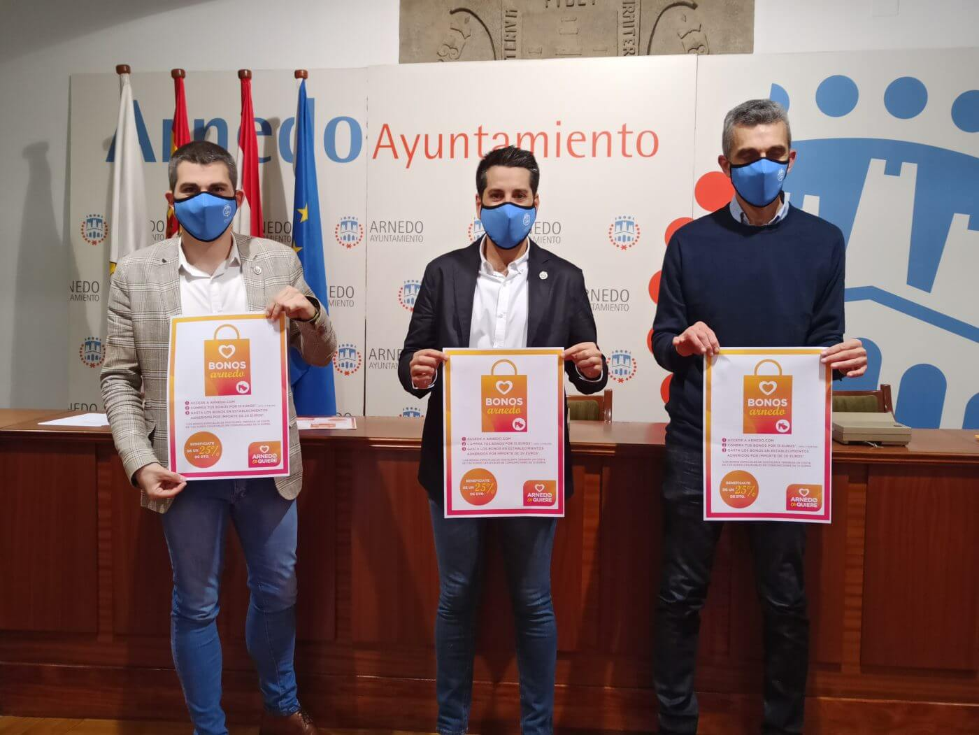 El Ayuntamiento de Arnedo destina 40.000 euros a financiar 9.000 bonos que saldrán a la venta el 15 de junio para incentivar el consumo en la ciudad
